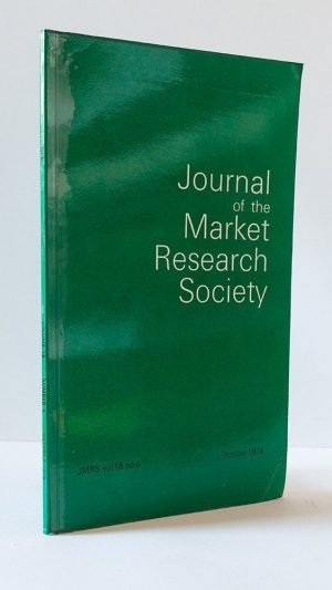 Journal of the Market Research Society Vol 18 No. 4