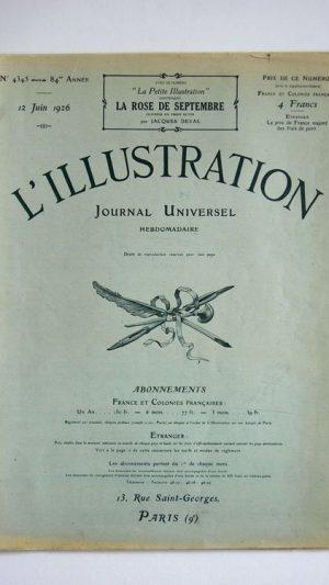 L'Illustration No 4345 12 Juin 1926