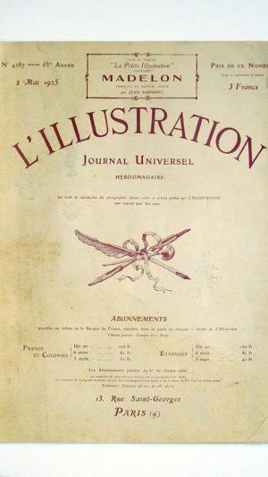 L'Illustration No 4287 2 Mai 1925