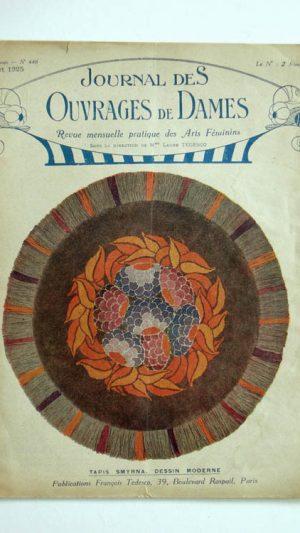 Journal des Ouvrages de Dames No.448 Juillet 1925 Revue Mensuelle Pratique Des Arts Feminins