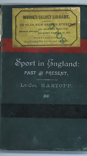 Sport in England: Past and Present
