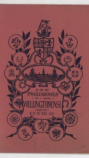 Prolusiones in Domo Wellingtonensi