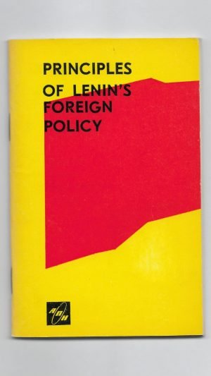 Principles of Lenin's Foreign Policy