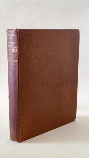Bibliography of the Writings of John Addington Symonds