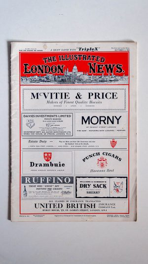 The Illustrated London News No 6427 Volume 241 October 6, 1962