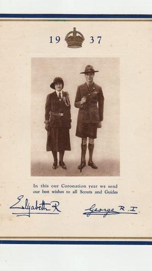 Bristol Girl Guides Grand Coronation Rally and Display Zoological Gardens Saturday, May 29th 1937
