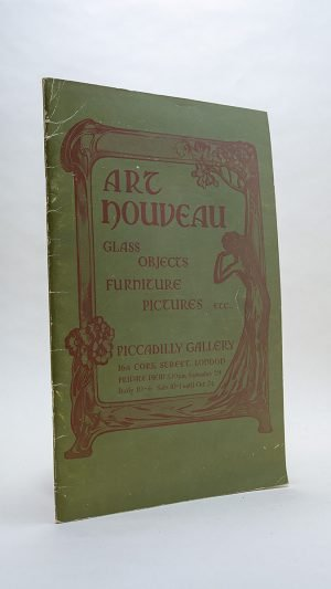 Art Nouveau Glass Objects Furniture Pictures Etc – Piccadilly Gallery catalogue