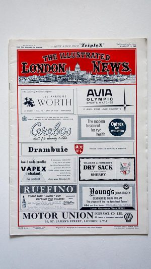 The Illustrated London News No 6419 Volume 241 August 11 1962